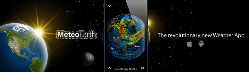 MeteoEarth - The revolutionary new Weather App